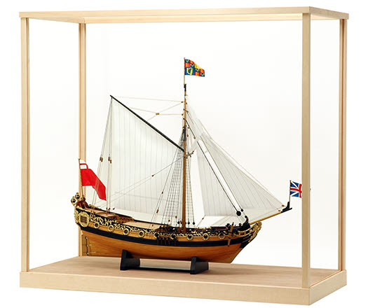 Sailing Ship Model Display Case